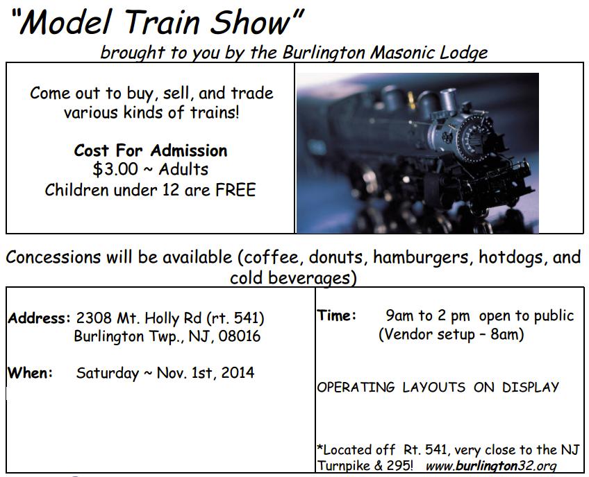 train show info